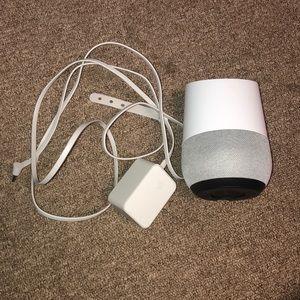 Google Home base speaker
